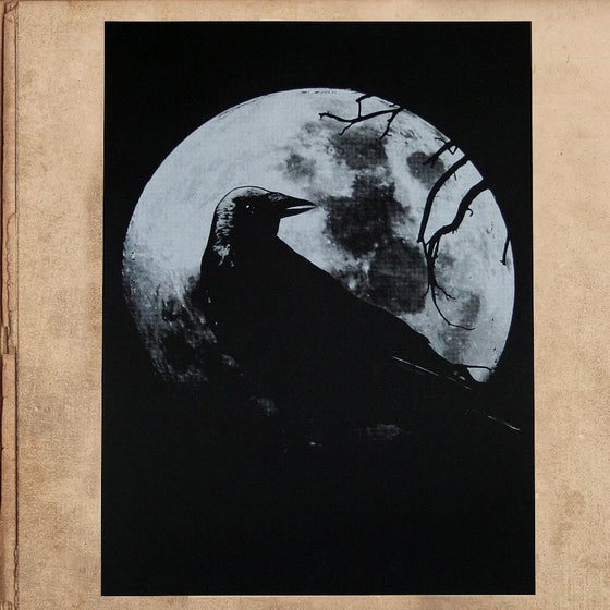 Image of the Raven silkscreened poster 18x24 - limited to 50