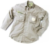 Image of Big Pocket FISHING SHIRT (Stone)