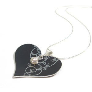 Image of Rococo Heart Necklace