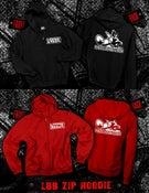 Image of LBB Zip Up Hoodie (black or red)