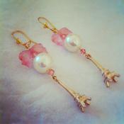 Image of Eiffel Tower earrings