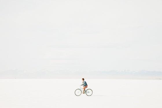 Image of Bike ride at the Salt Flats