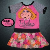 Image of **SOLD OUT** Miss Piggy Fabulous The Muppets Dress - Size 5T/6