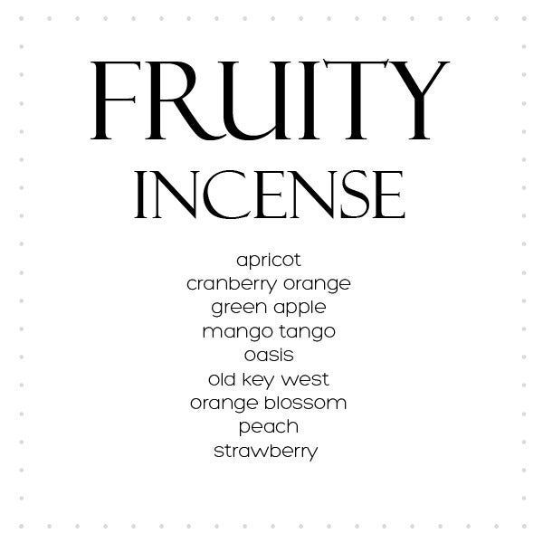 Image of Incense Fruity