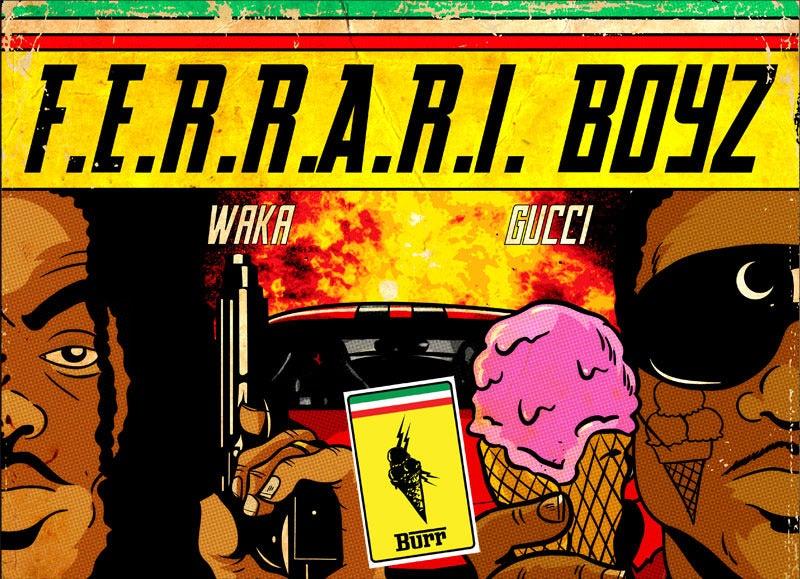 Image of F.E.R.R.A.R.I. BOYZ (w/ Free Tattoo)
