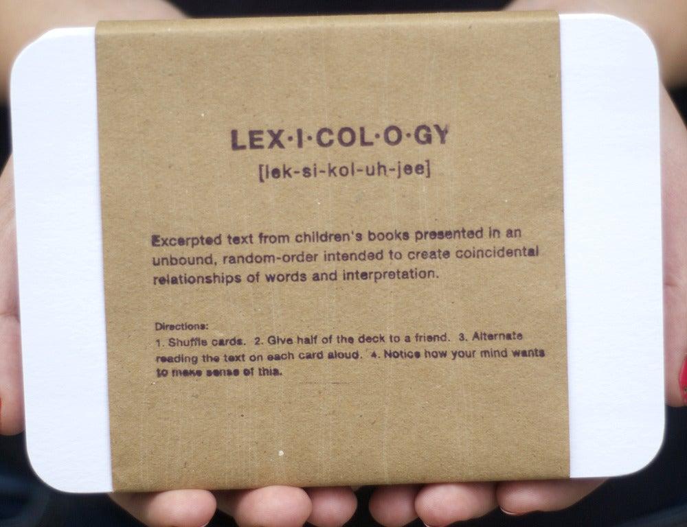 Image of lexicology with Ashley John Pigford
