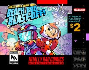 Image of Lobster Ladd & Cosmic Jones: Beach BBQ Blast-Off!