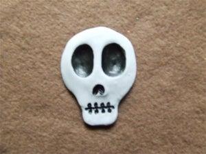 Image of Sugar Skulls Hair Piece - Plain