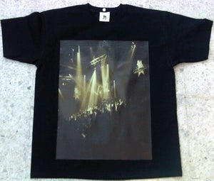 Image of Dub Police Limited Live Black/Brown Photo Logo Mens T-Shirt
