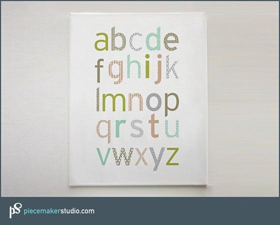 Image of Simple Alphabet