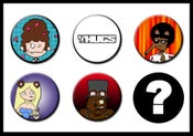 Image of Les Thugs Button Set: Series 2