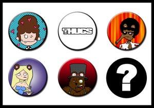 Image of Les Thugs Button Set: Series 2