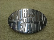 Image of Sportster Till Death Belt Buckle