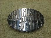 Image of Sportster Till Death Belt Buckle