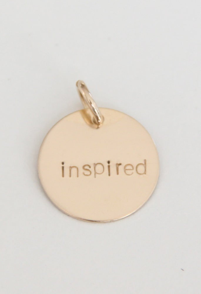 Image of INSPIRED charm