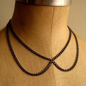 Image of Open Peter Pan Collar Necklace