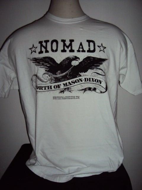 Image of NOMaD Eagle Logo White T-Shirt