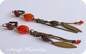 "Image of Boucles d'oreilles ""gipsy lady"" N E W #1"