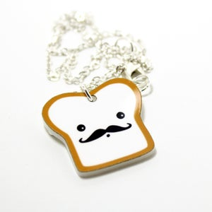 Image of Acrylic French Toast Necklace