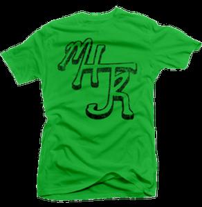 Image of Green MHJR T-Shirt