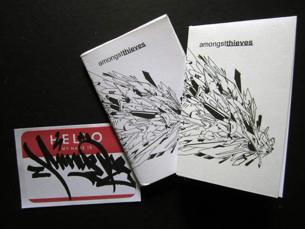 Image of AmongstThieves zine issue #0