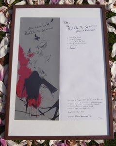 Image of SOLD OUT - Black Box Red 'Battle The Sparrows' Print/Download
