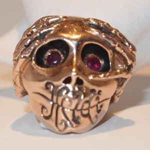 """Image of """"Logo"""" Ring Rose Gold"""