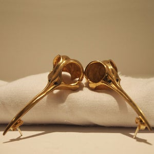 """Image of """"Vlad"""" Earrings Gold Plated Brass"""