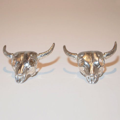 "Image of ""Svala"" Earrings Silver"