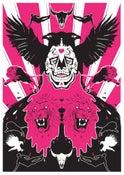 Image of Beard Of Death Screen print