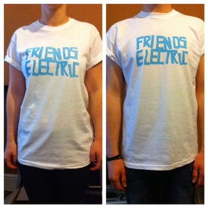 Image of FRIENDS ELECTRIC BLUE LOGO