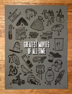 Image of Greatest Movies Poster