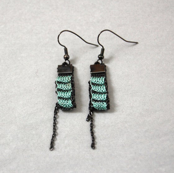 Image of One Pixel Earrings AQUA