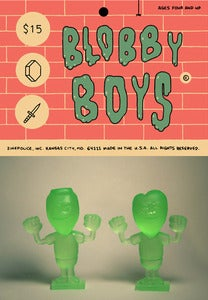 Image of The Blobby Boys toys by Alex Schubert