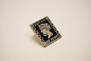 Image of Penny Black Pin Badge