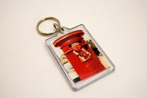 Image of Hand in Post Box keyring