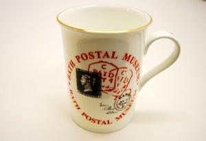 Image of Fine Bone China Mug with Penny Black design