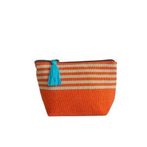 Image of Small Tassel Bag Melon/Celery