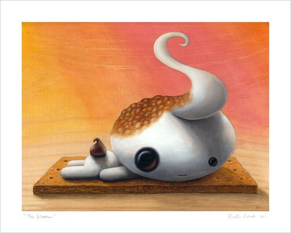 """Image of """"No S'more"""" giclee print"""