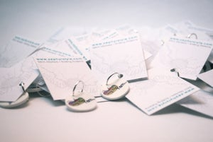Image of Wholesale Custom Stitch Markers<br>.::Bulk Orders Only::.