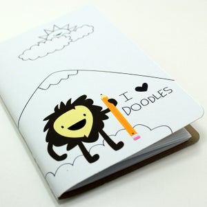Image of I Heart Doodles Pocket Notebook