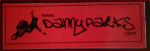 Image of DP.com Sticker