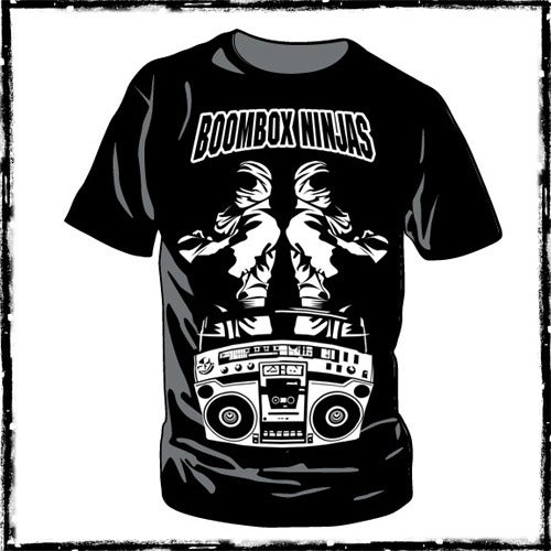 Image of Boombox Ninjas Mens T-Shirt