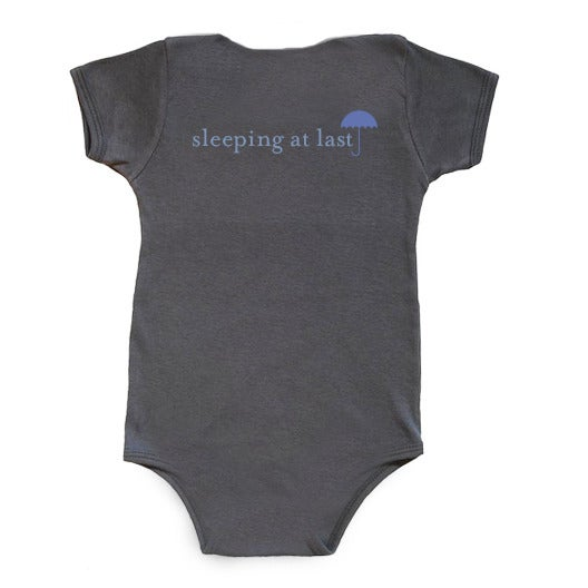 "Image of Baby One-Piece - ""I Am Meant for Amazing Things"" (GREY)"