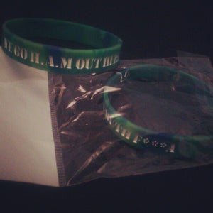 Image of H.A.M Wristband #2