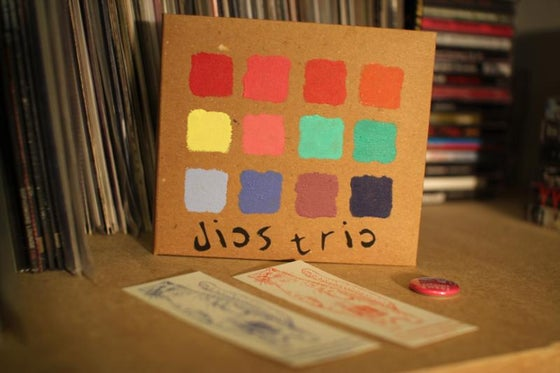 Image of Dios Trio - High On Bikes. [CD] [Well We*pon]