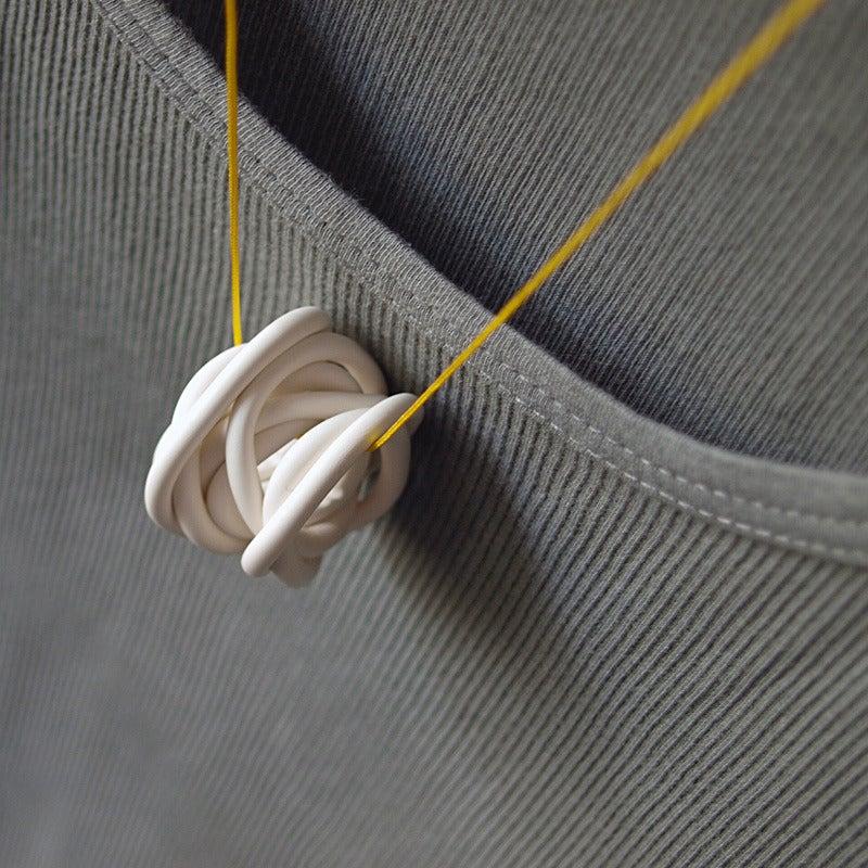 Image of MONO° white/yellow necklace #2