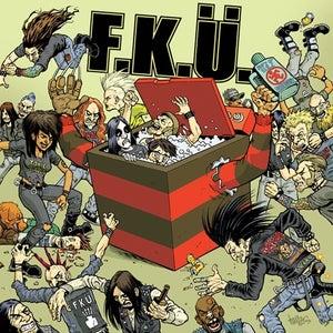 "Image of F.K.Ü. Horror Metal Moshing Machine 7"""