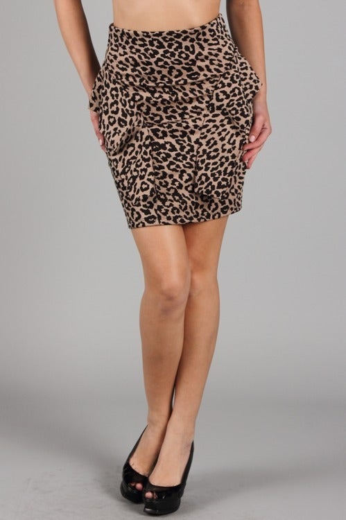 Boutique Blush — High Waist Leopard