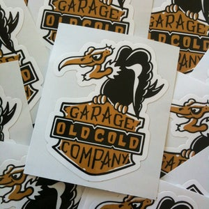 "Image of NEW! Old Gold ""Buzzard"" Sticker(2 for $5) free S&H!"